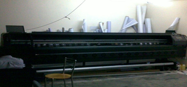 MACHINE USED for Solvent Printing